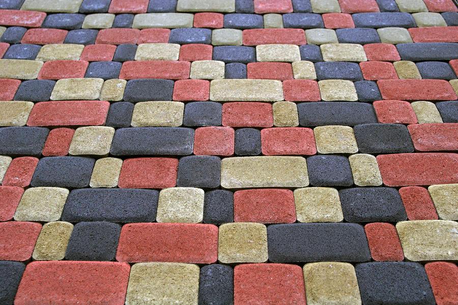 тротуарная плитка старого образца - фото 9