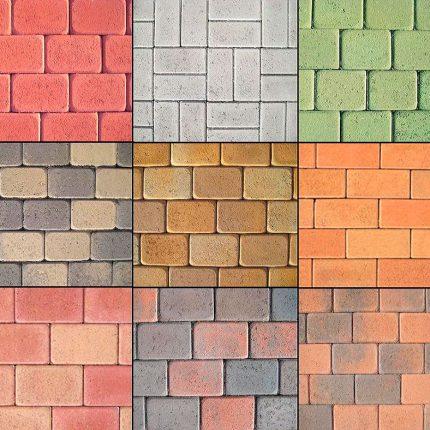 Пигменты для окрашивания бетонов и тротуарной плитки