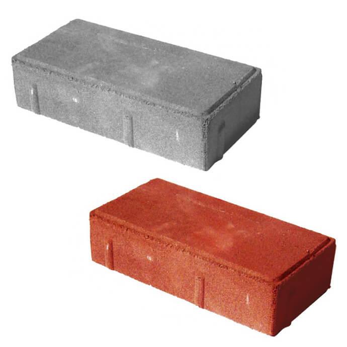 Тротуарная плитка «Кирпичик» 45 мм