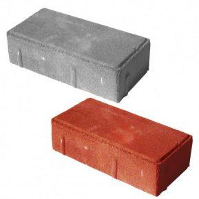 Тротуарная плитка «Кирпичик» 60 мм