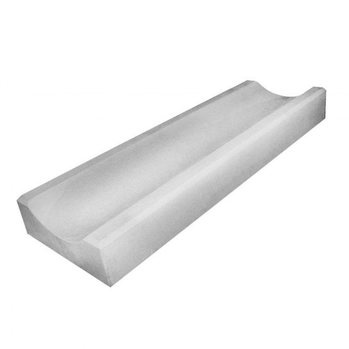 Водосток тротуарный бетонный 1000x180x80, литой