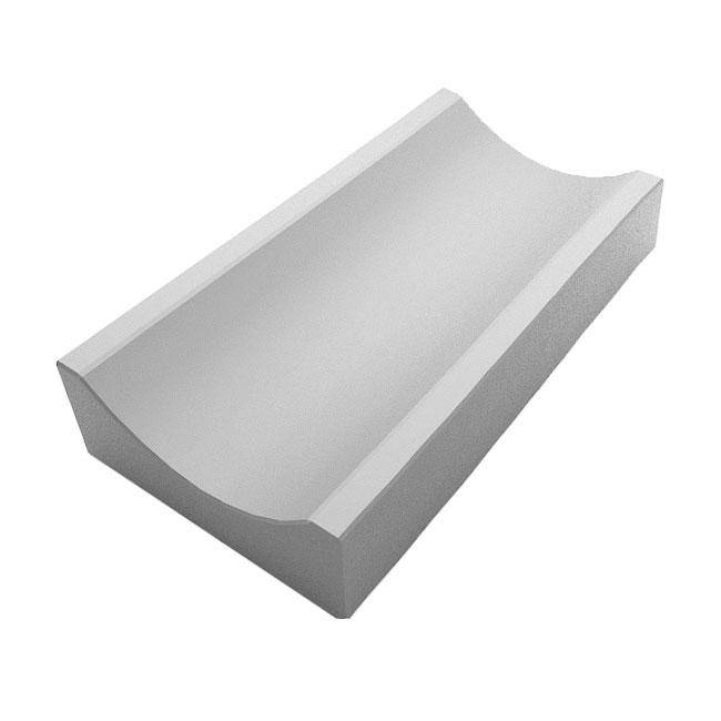 Водосток тротуарный бетонный 350x160x60, литой