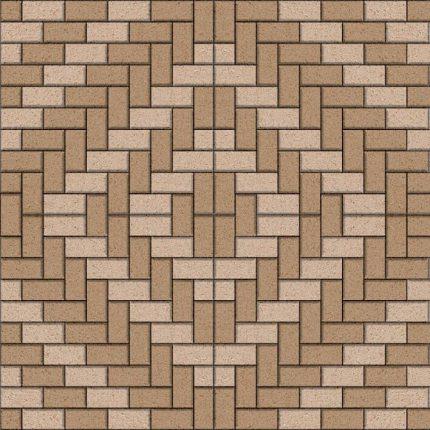 Варианты укладки тротуарной плитки «Кирпичик»